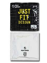 Just Fit - Large Size 60mm 2 pieces Latex Condom