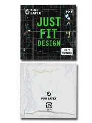Just Fit - Tight Size 53mm 2 pieces Latex Condom