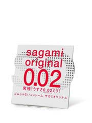 Sagami Original 0.02 (2nd generation) 1's Pack PU Condom