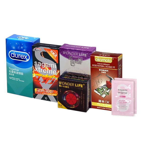 Sampson Recommended Value Type Combo Set 42 pieces condom
