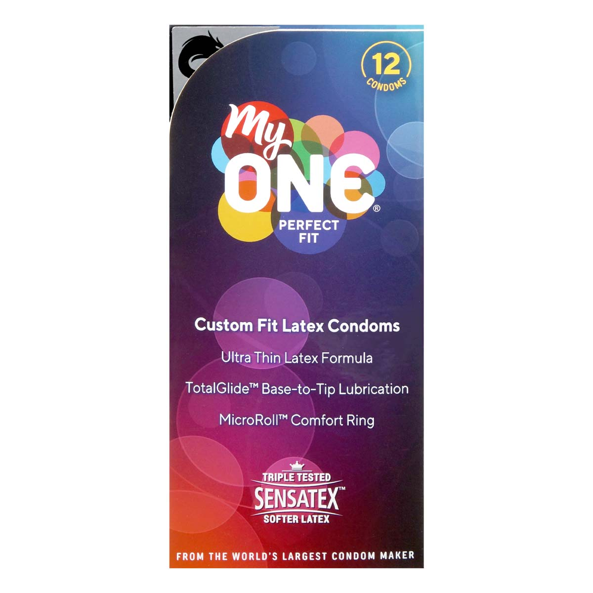 myONE Perfect Fit Dragon 12's Pack Latex Condom