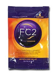 FC2 Female Condom 1 piece bulk pack