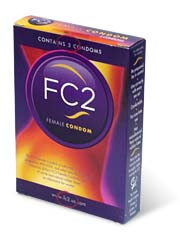 FC2 Female Condom 3's Pack