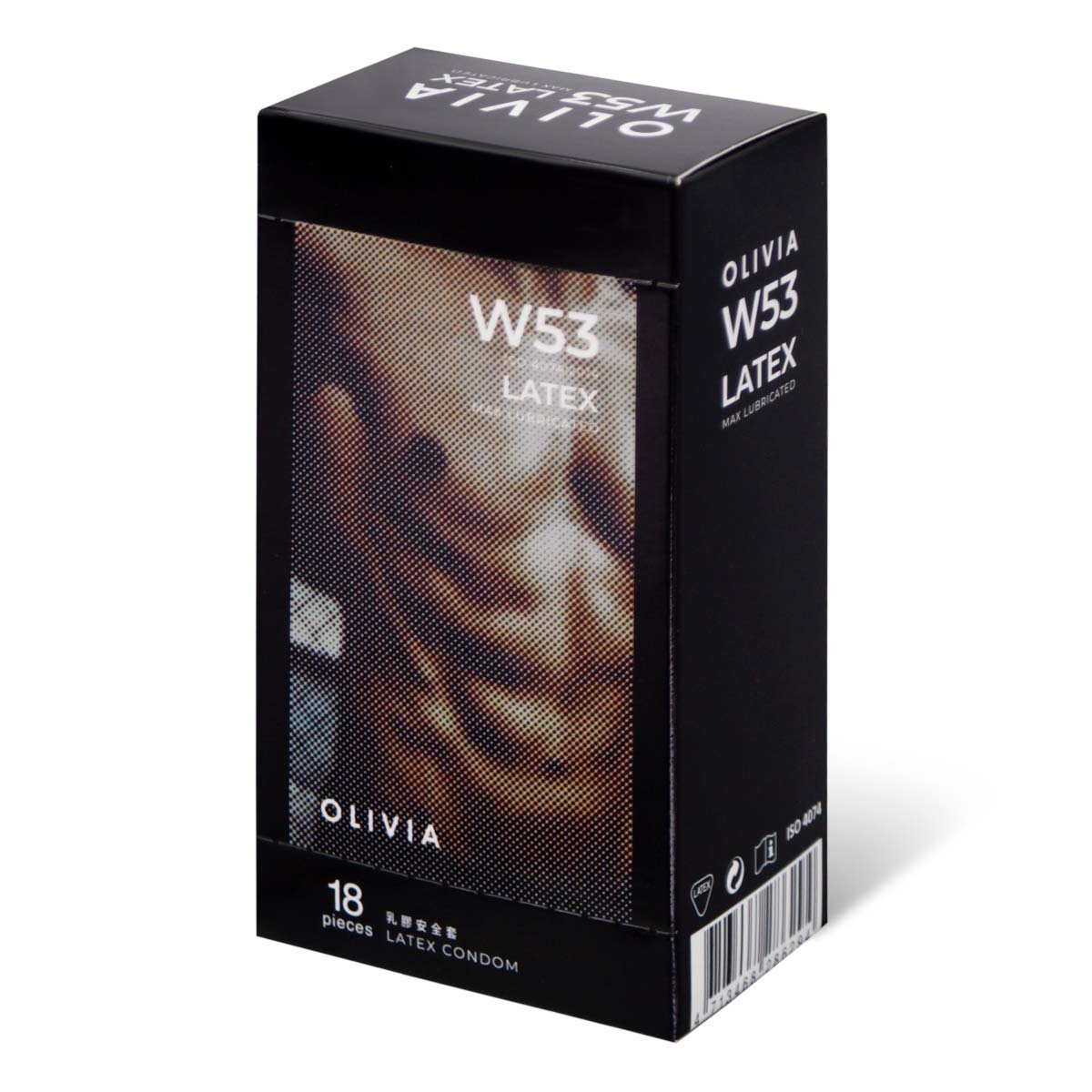 Olivia The Inner Man Aqua 18's Pack Latex Condom