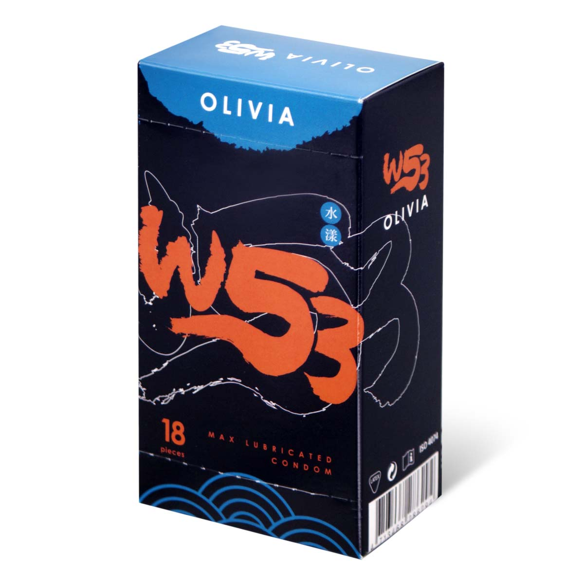Olivia The East Extra Lube 18's Pack Latex Condom
