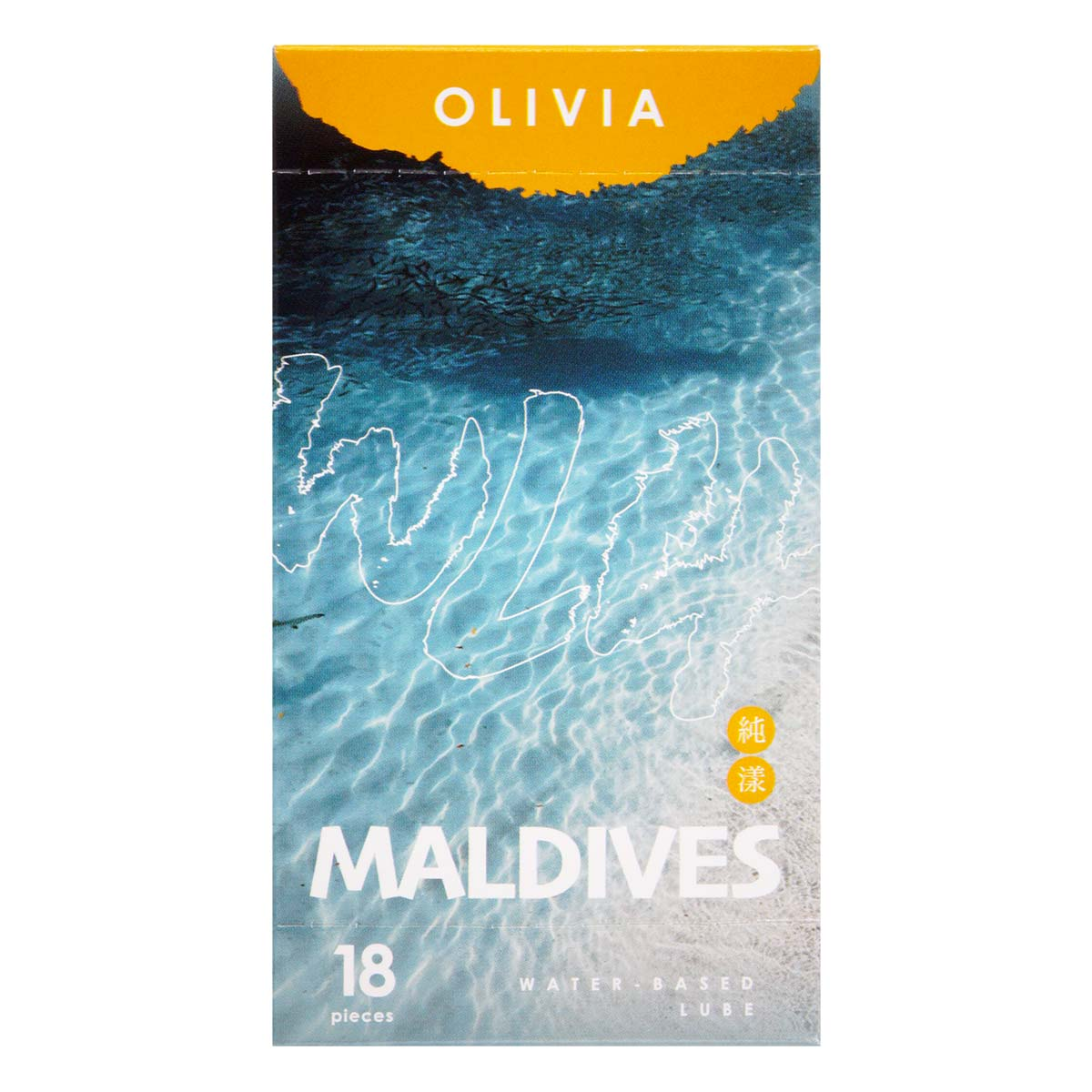 Olivia Maldives Hydro 4g (sachet) 18 pieces Water-based Lubricant