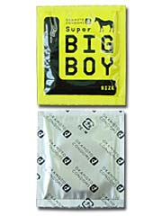 Super Big Boy 58mm (Japan Edition) 2 pieces Latex Condom