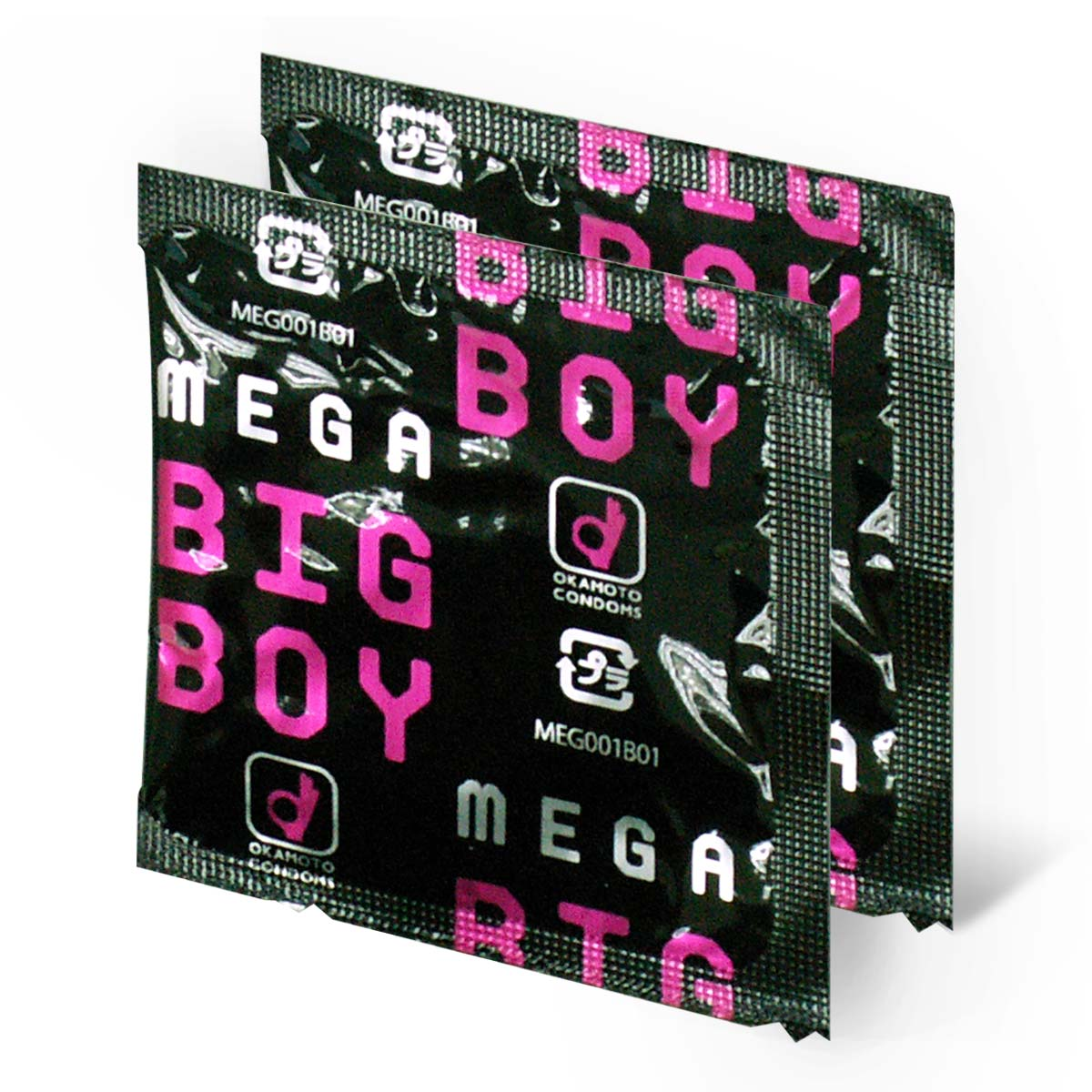 Mega Big Boy 72mm (Japan Edition) 2 pieces Latex Condom