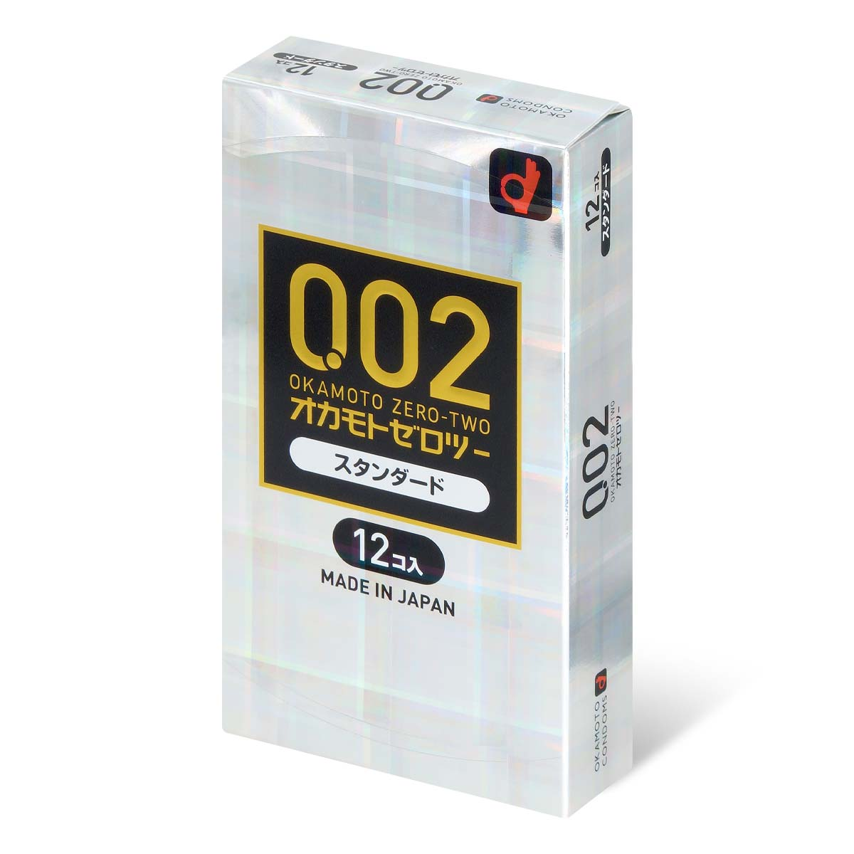 Okamoto Unified Thinness 0.02EX (Japan Edition) 12's Pack PU Condom