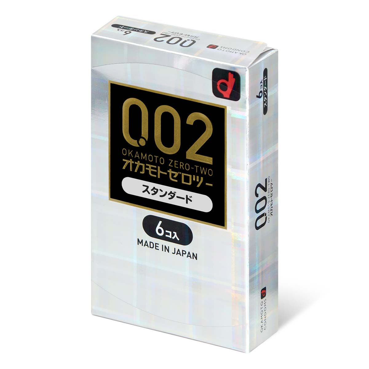 Okamoto Unified Thinness 0.02EX (Japan Edition) 6's Pack PU Condom