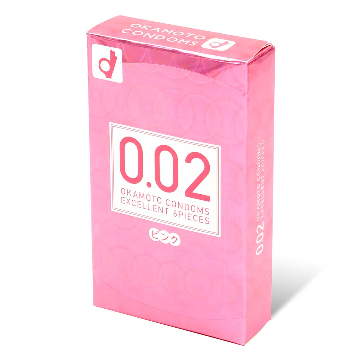 Okamoto Unified Thinness 0.02EX pink colors (Japan Edition) 6's Pack PU Condom