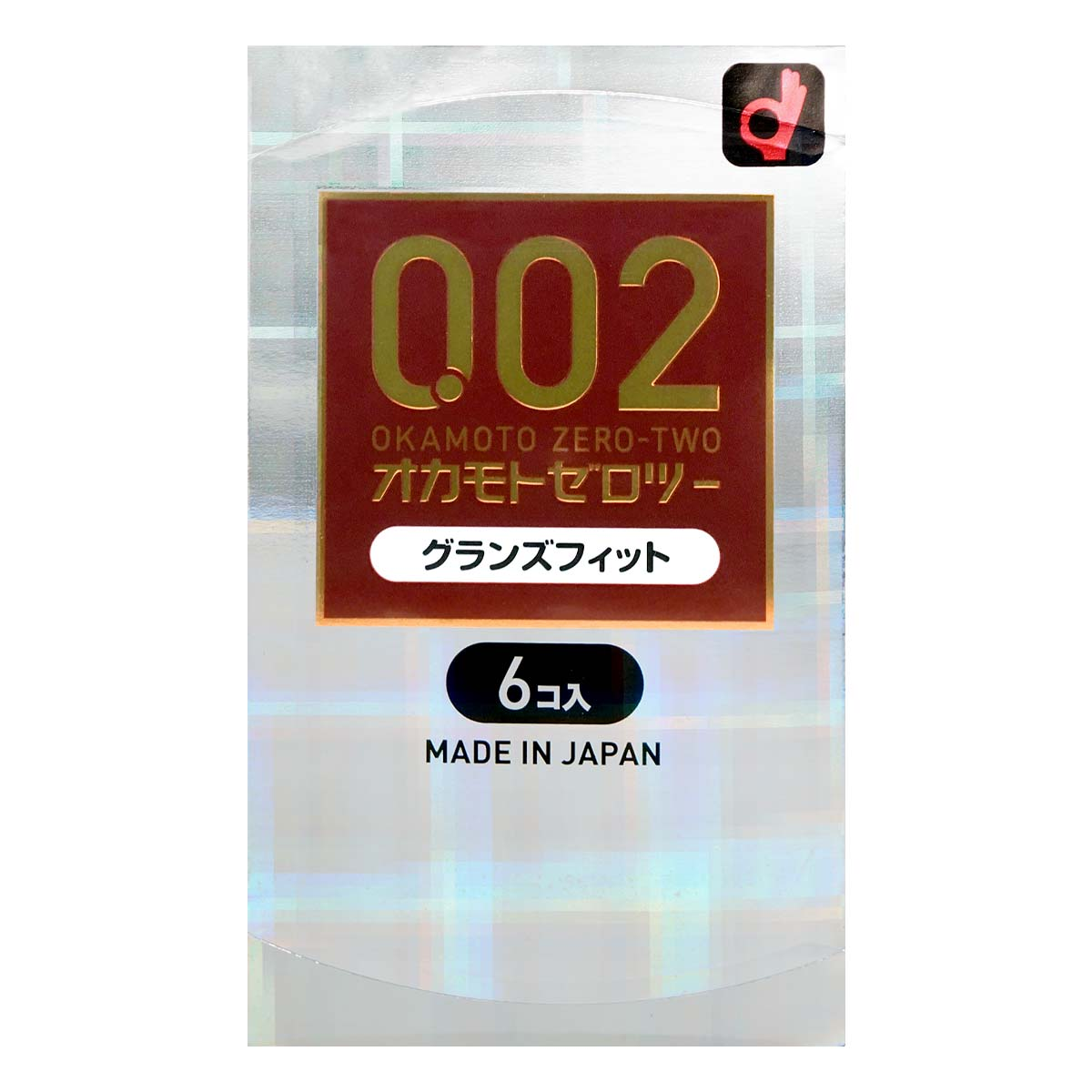 Okamoto Unified Thinness 0.02EX Glans Fit (Japan Edition) 58/56mm 6's Pack PU Condom