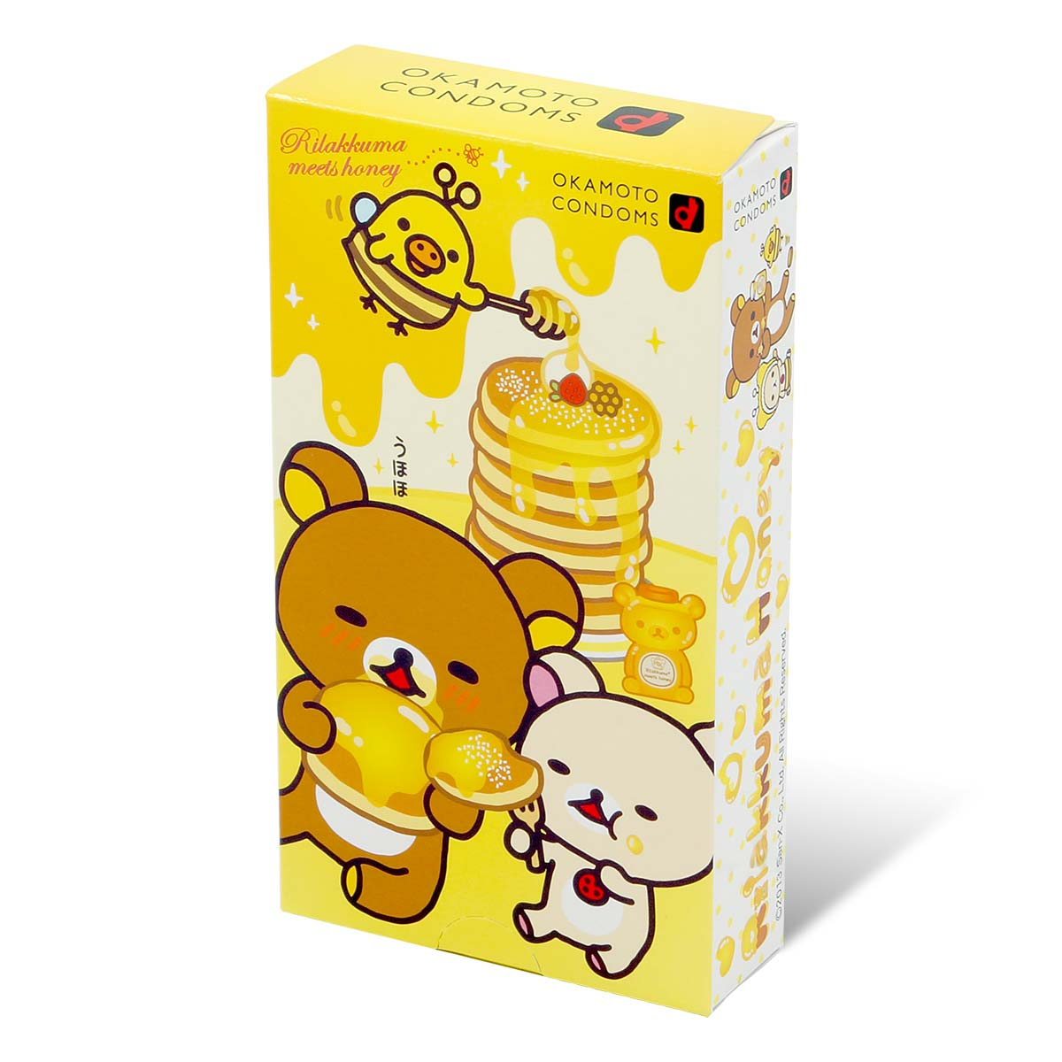 Rilakkuma 2013 10's Pack Latex Condom