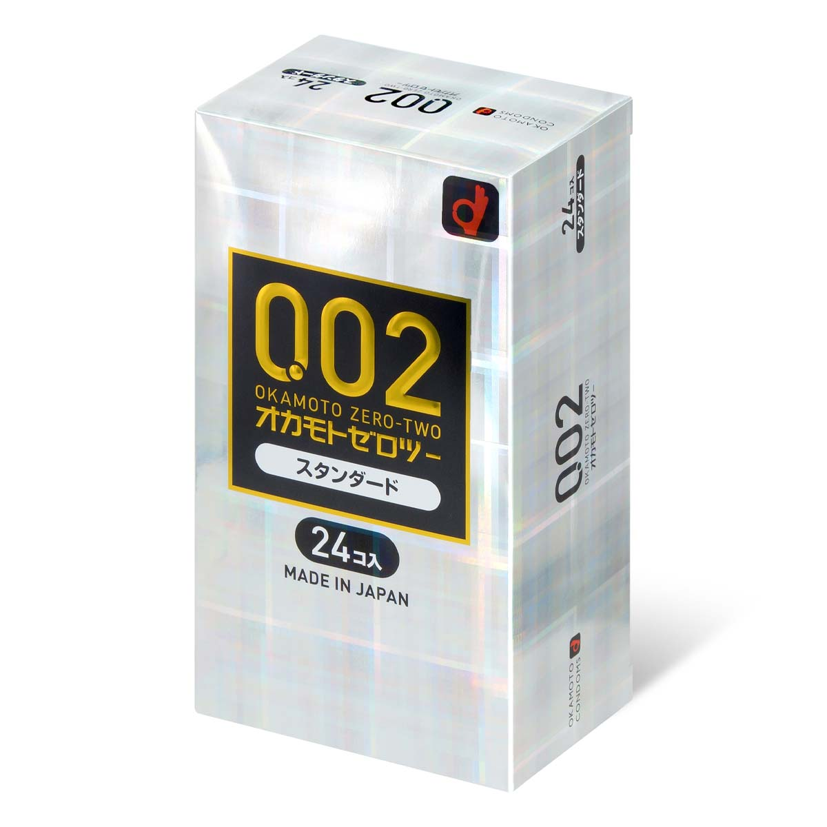 Okamoto Unified Thinness 0.02EX (Japan Edition) 24's Pack PU Condom