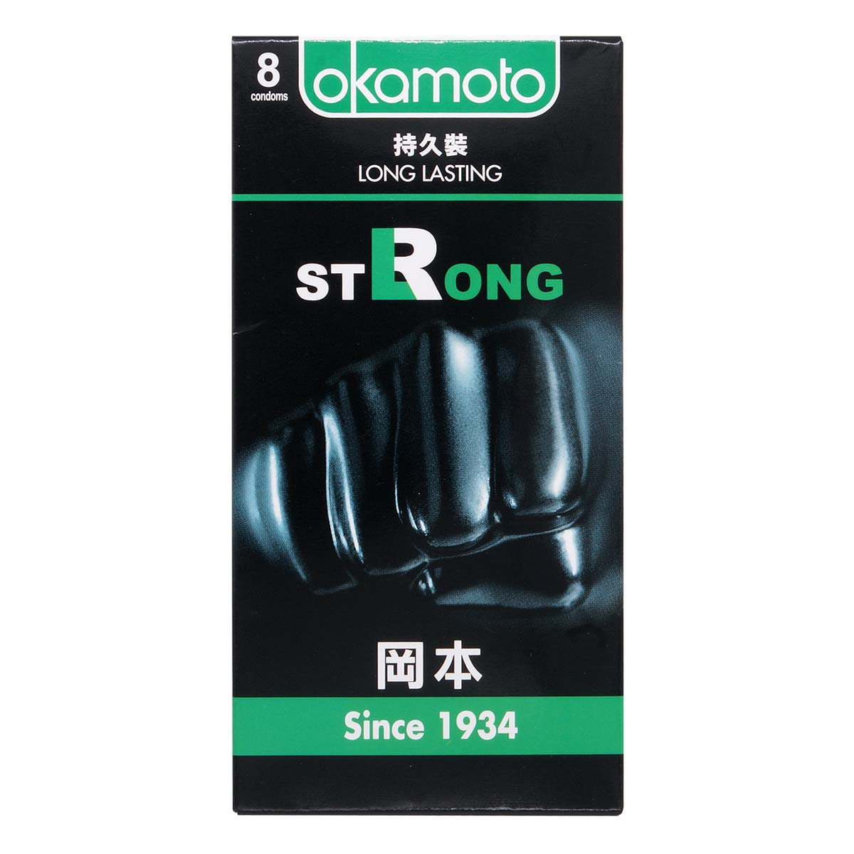 Okamoto Strong 8's Pack Latex Condom