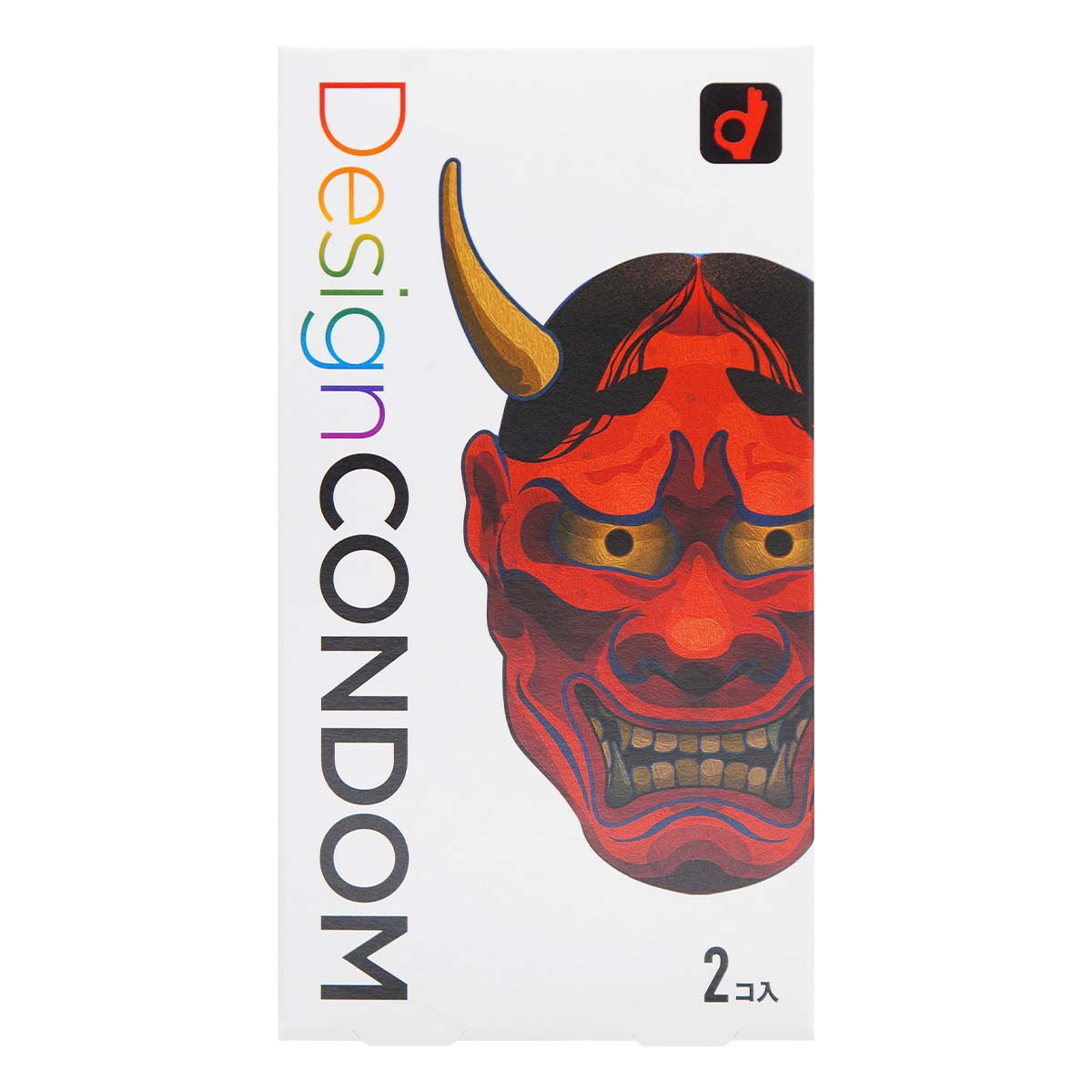 Okamoto HANNYA Design Condom (Japan Edition) 2 pieces Latex Condom