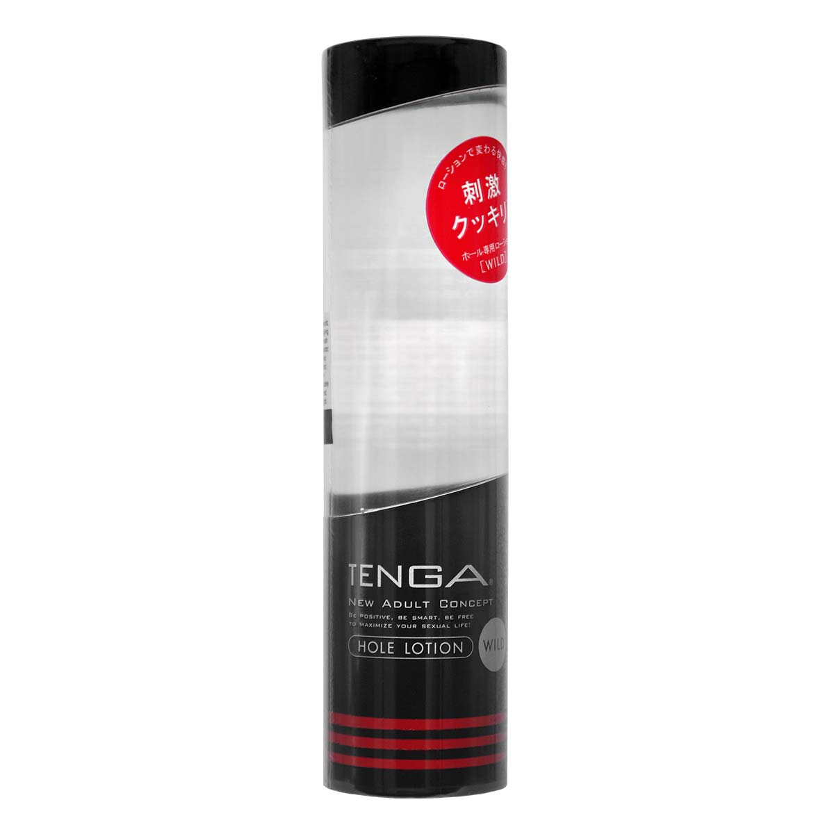 TENGA Hole Lotion [WILD Black] 170ml Water-based Lubricant