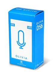 Olivia D56 non-lubricated 56mm 18's Pack