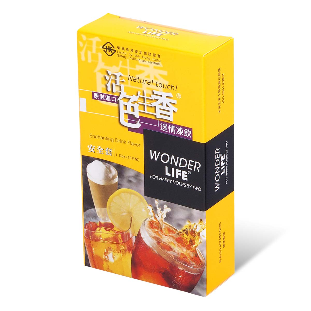 Wonder Life Enchanting Drink Flavor 12's Pack Latex Condom