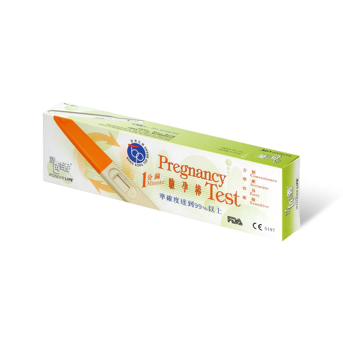 Wonder Life 1 minute pregnancy test