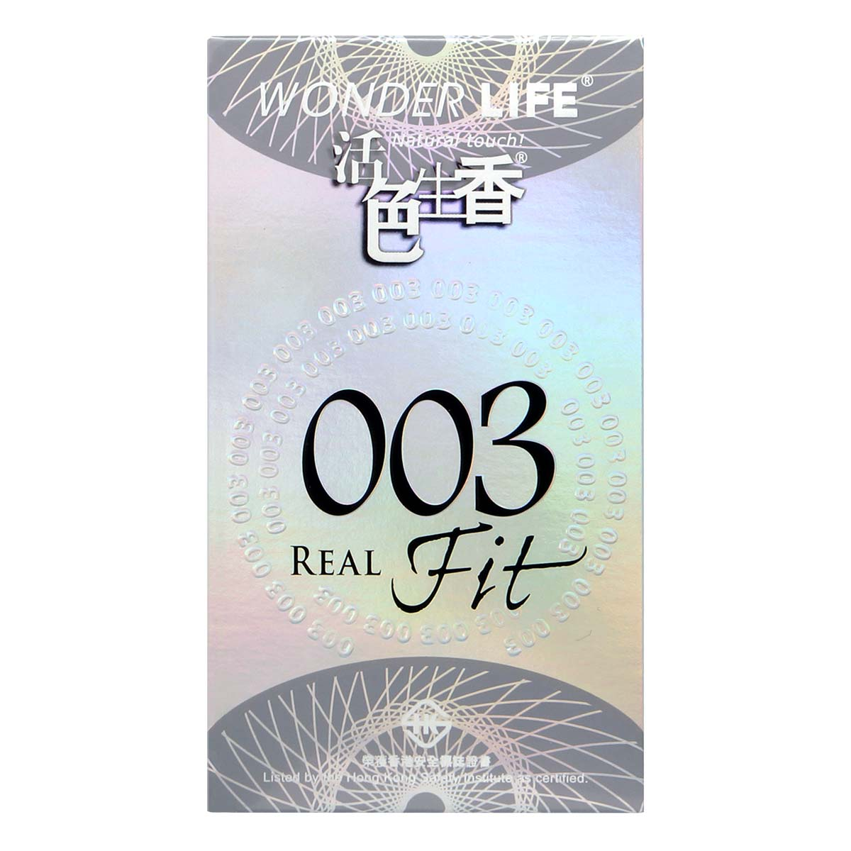 Wonder Life 003 Real Fit 10's Pack Latex Condom