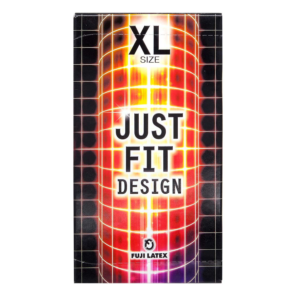 Just Fit - X-Large Size 66/56mm 12's Pack Latex Condom