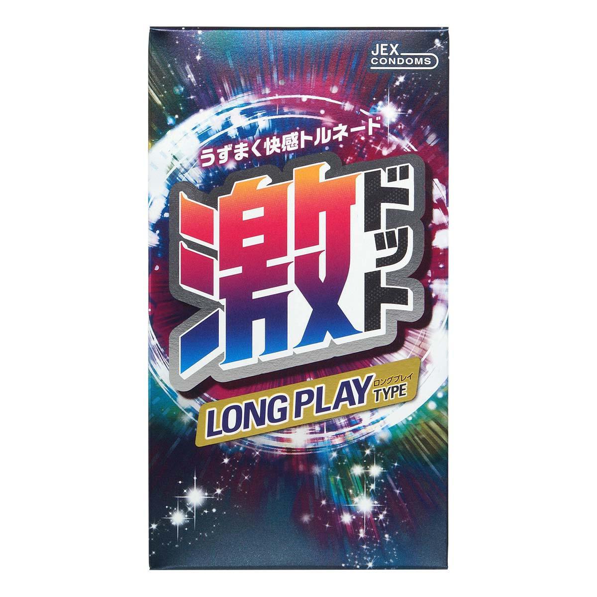 JEX Super Dots Long Play Type 8's Pack Latex Condom