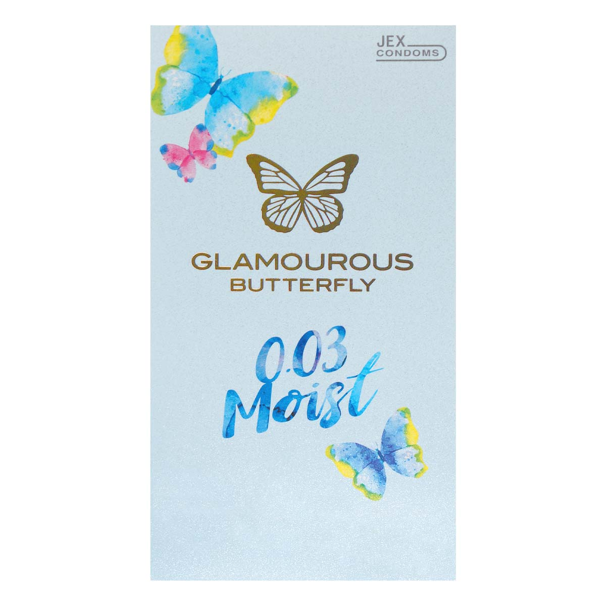 Glamourous Butterfly 0.03 Moist Type 10's Pack Latex Condom