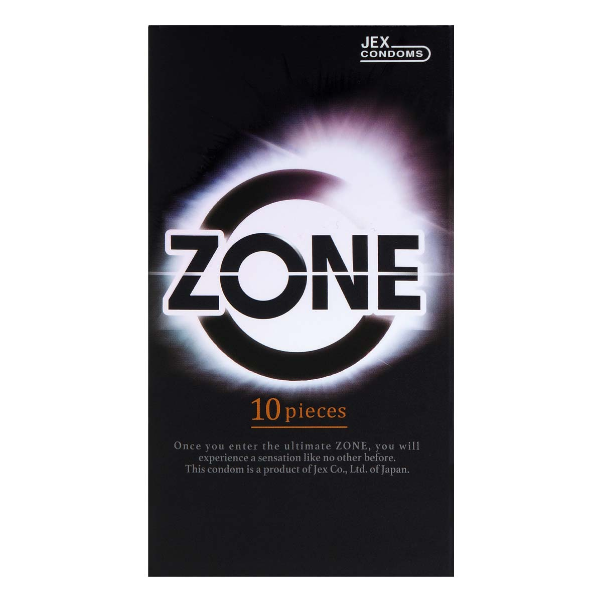 JEX ZONE 10's Pack Latex Condom