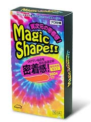 Sagami Magic Shape 10's Pack Latex Condom