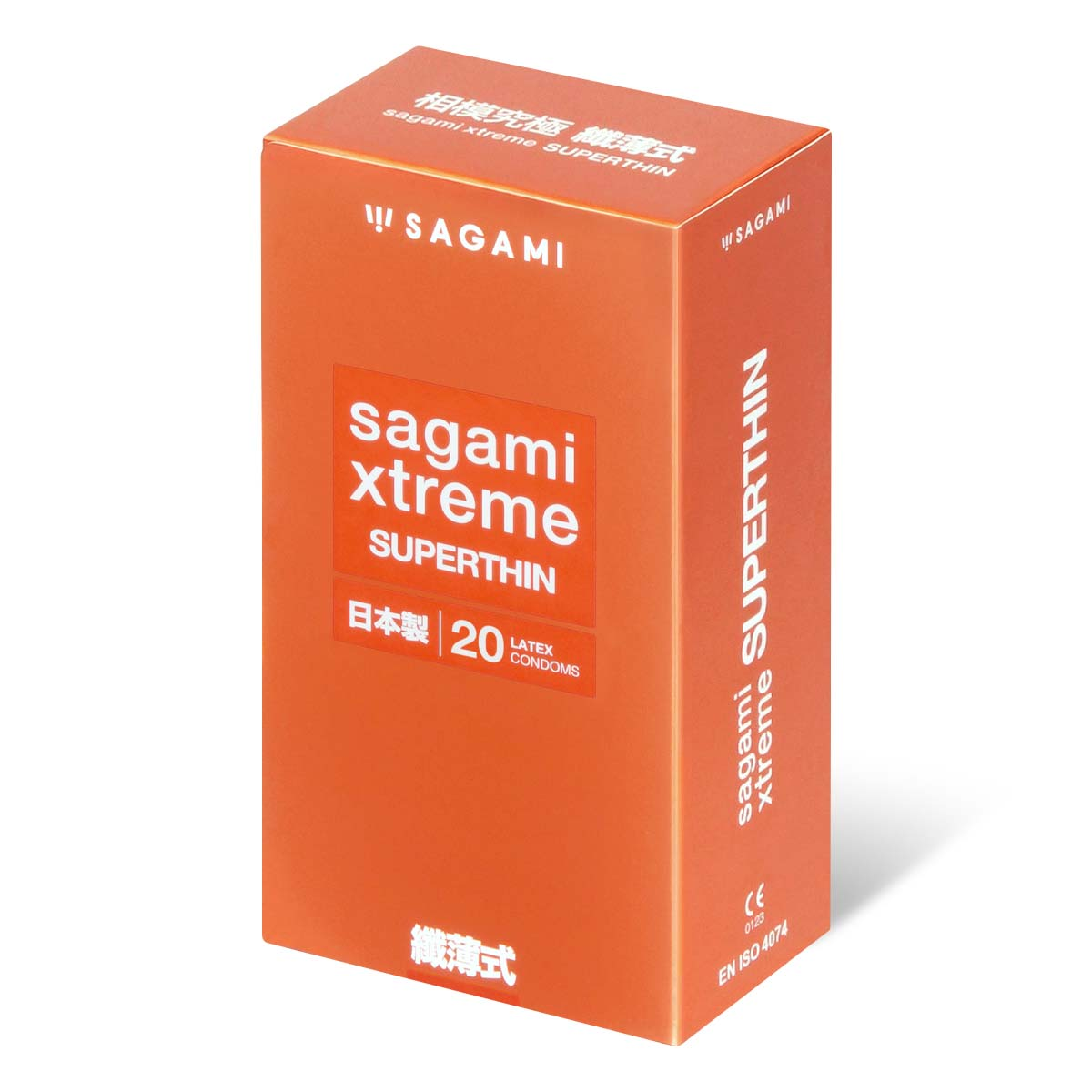 Sagami Xtreme Superthin (2nd generation) 20's Pack Latex Condom