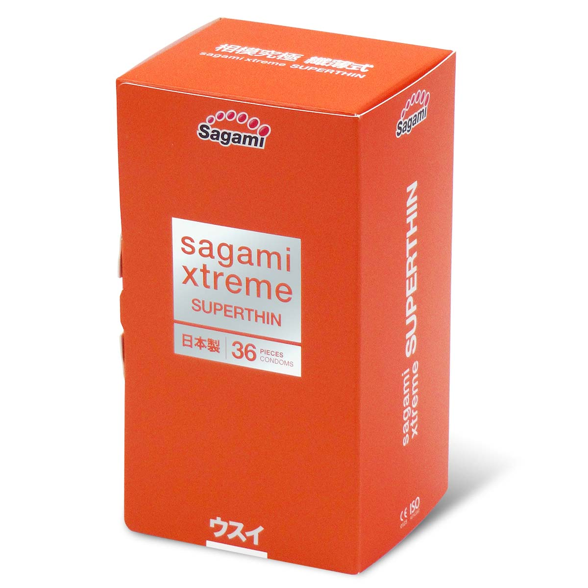 Sagami Xtreme Superthin (2nd generation) 36's Pack Latex Condom