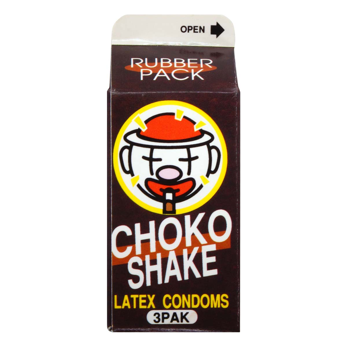 Mini Pack Choko 3's Pack Latex Condom