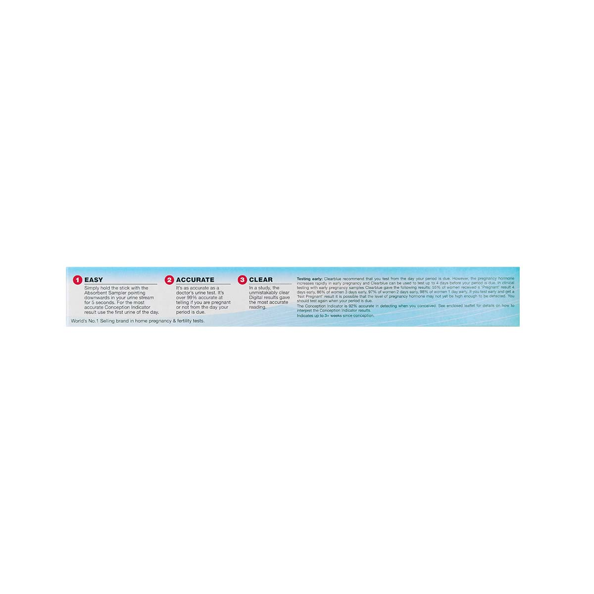 Clearblue Digital Pregnancy Test With Conception Indicator