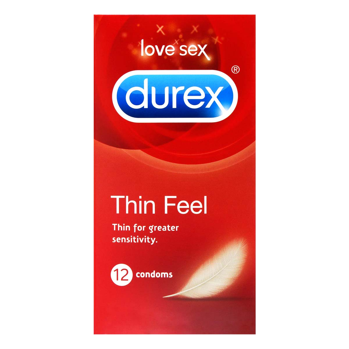 Durex Thin Feel 12's Pack Latex Condom