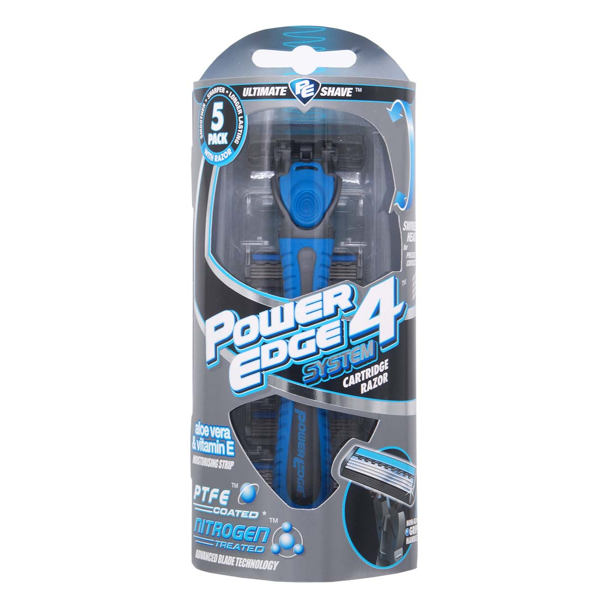 Power Edge System 4 Starter Pack (1* Razor + 5 * Blades)