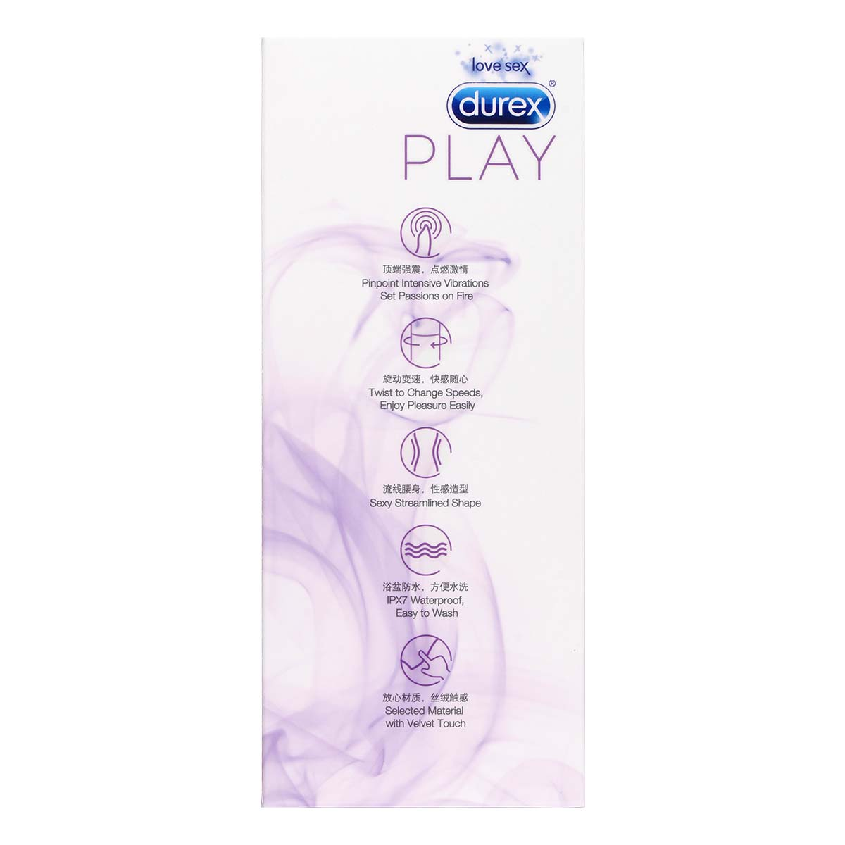 Durex Play V-Vibe multi-speed vibe