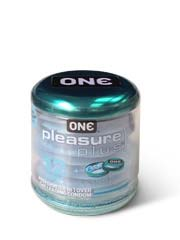one pleasure plus 12's Pack Latex Condom
