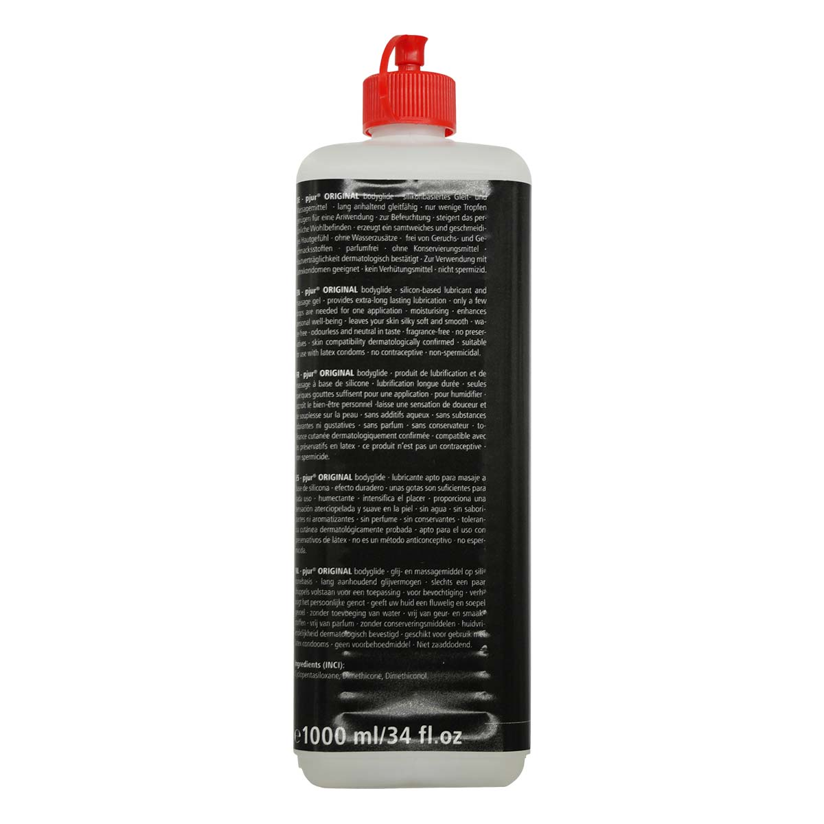 pjur ORIGINAL 1000ml Silicone-based Lubricant - International Edition