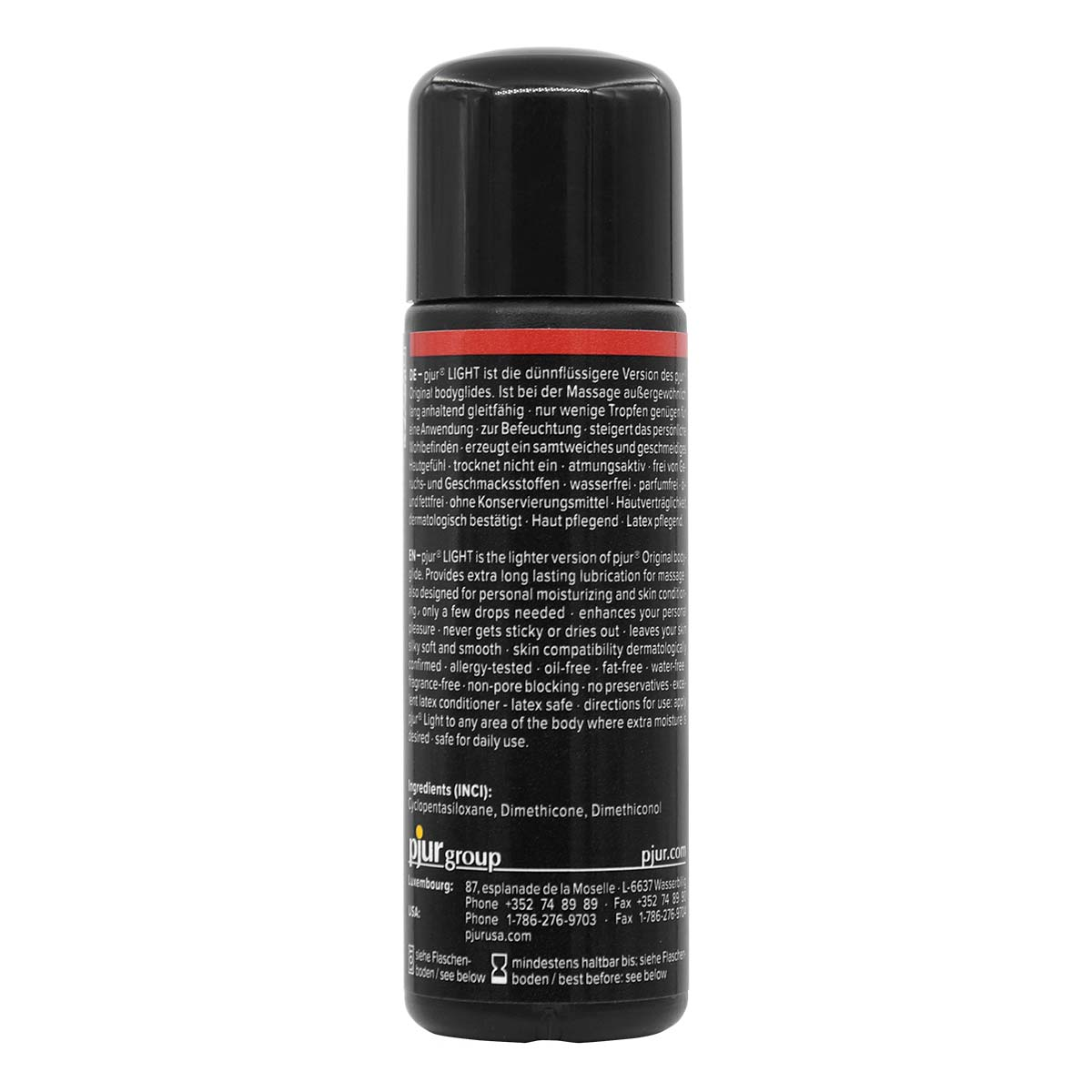 pjur LIGHT 30ml Silicone-based Lubricant