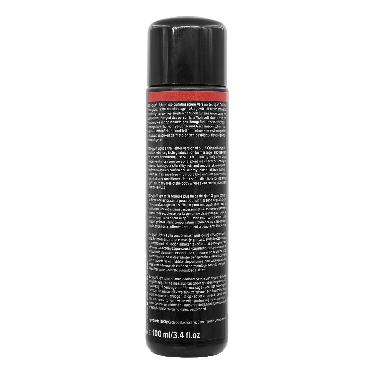 pjur LIGHT 100ml Silicone-based Lubricant