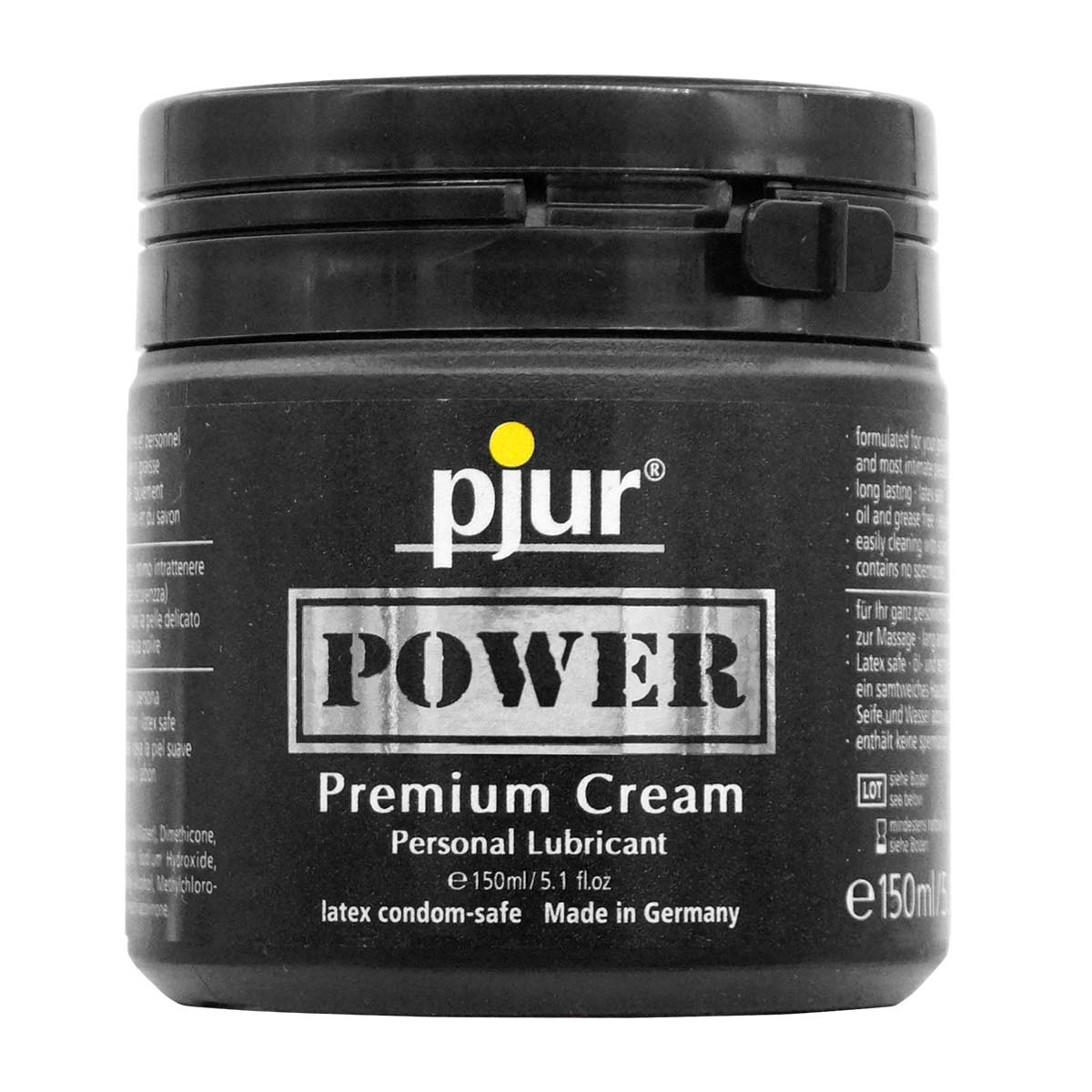 pjur POWER 150ml Premium Cream