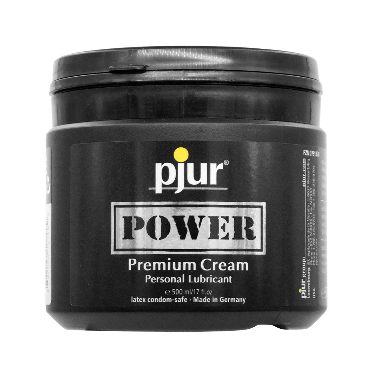 pjur POWER 500ml Premium Cream