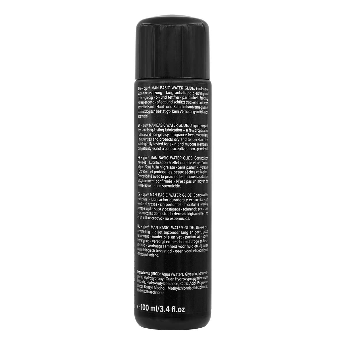 pjur MAN BASIC WATERGLIDE 100ml Water-based Lubricant