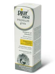 pjur med PREMIUM glide 100ml Silicone-based Lubricant