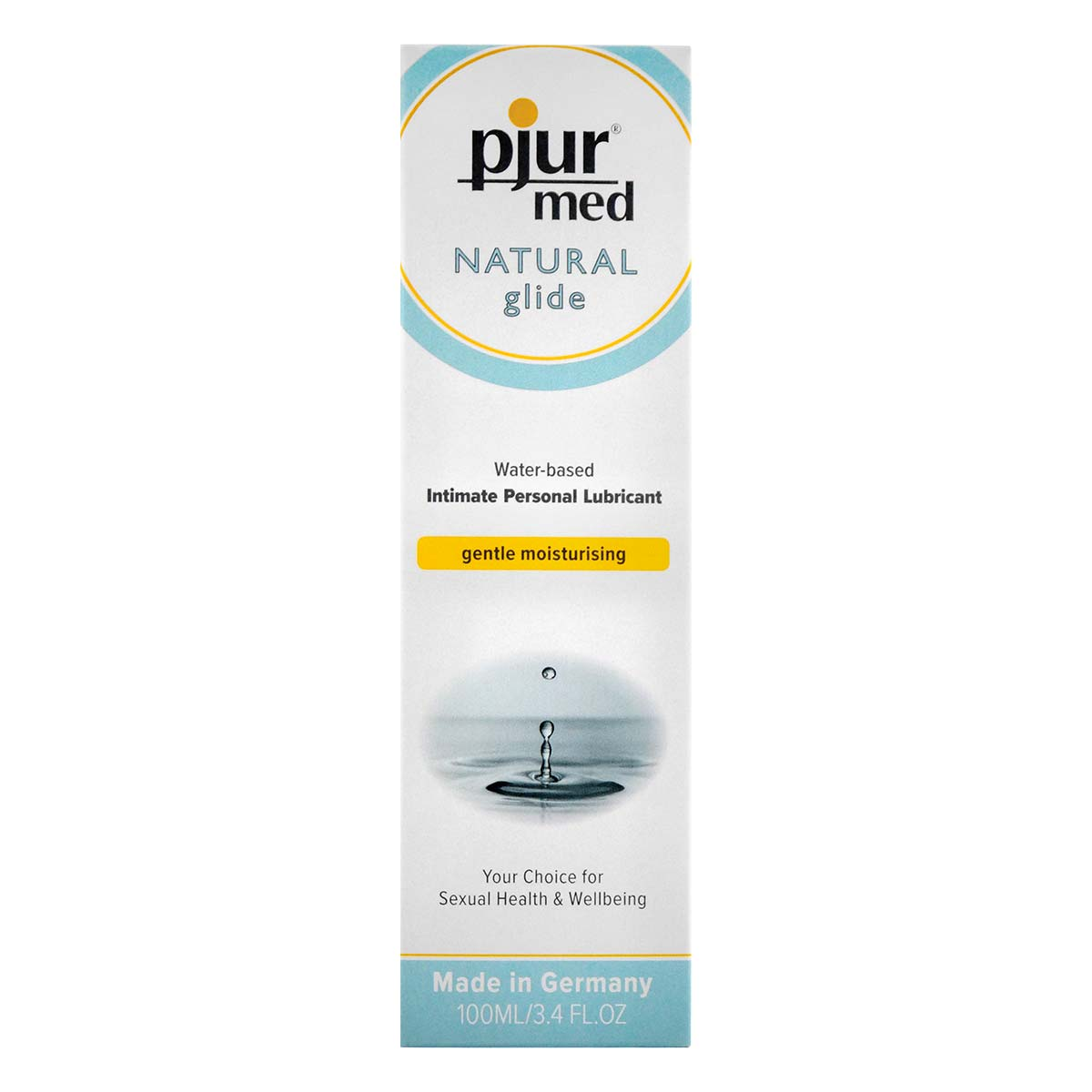 pjur med NATURAL glide 100ml Water-based Lubricant