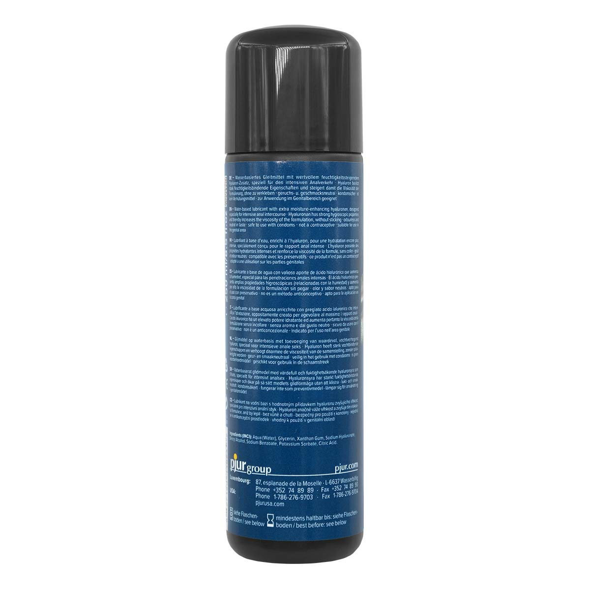 pjur BACK DOOR COMFORT Water Anal Glide 250ml Water-based Lubricant