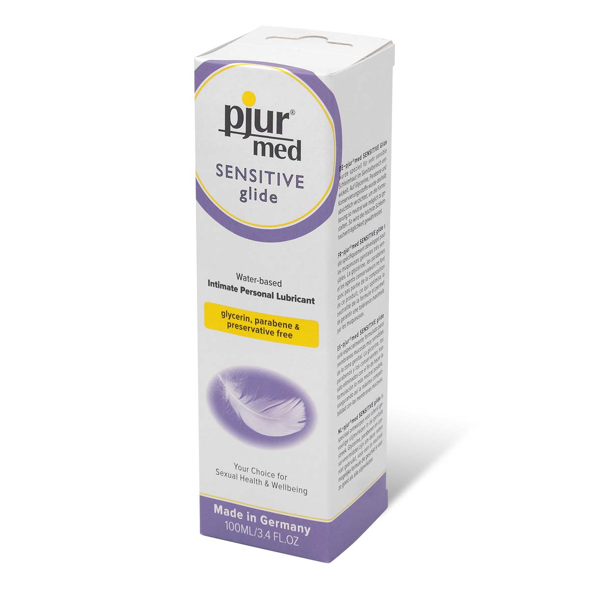 pjur med SENSITIVE glide 100ml Water-based Lubricant