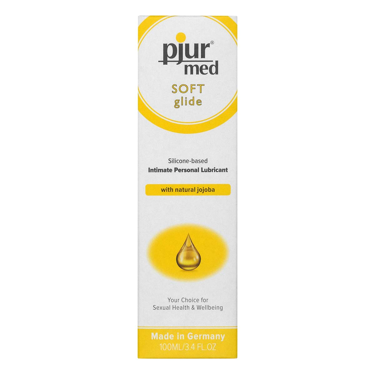 pjur med SOFT glide 100ml Silicone-based Lubricant