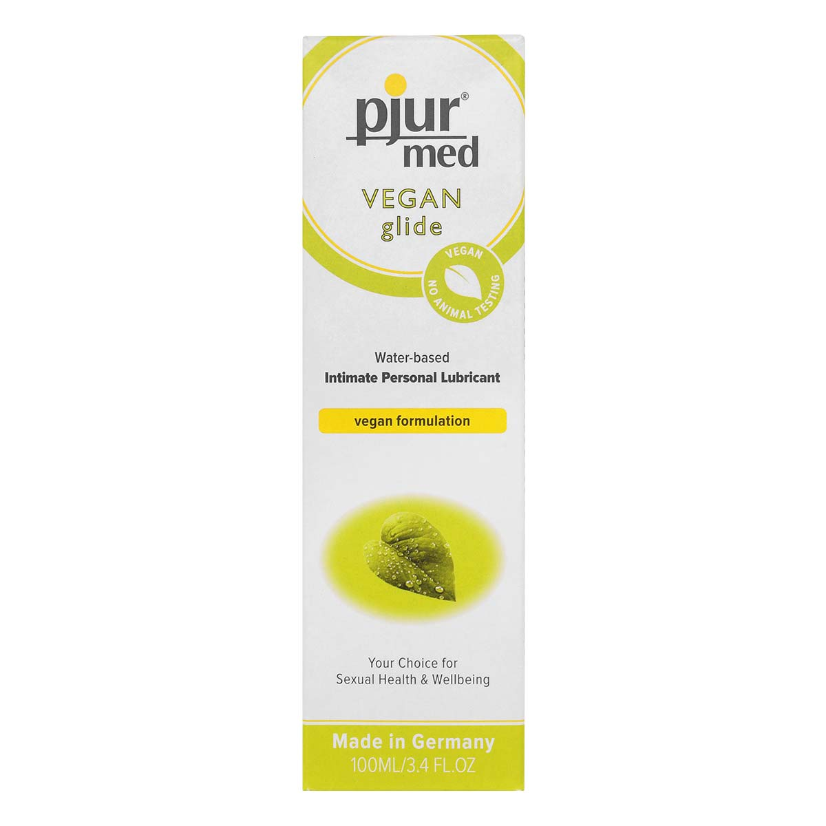 pjur med VEGAN glide 100ml Water-based Lubricant